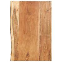 vidaXL Doska na kúpeľňovú skrinku masívne akáciové drevo 80x55x3,8 cm