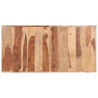 vidaXL Stolová doska, drevený masív sheesham 16 mm, 140x70 cm