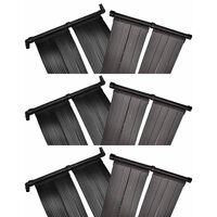vidaXL Solárny panel na ohrev vody v bazéne 6 ks 80x620 cm