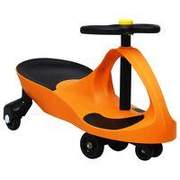 vidaXL Samochodiace autíčko pre deti s klaksónom oranžové