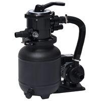 vidaXL Bazénové čerpadlo s pieskovým filtrom so 7-polohovým ventilom 18 l