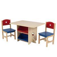 KidKraft Sada stola a 2 stoličiek s hviezdami