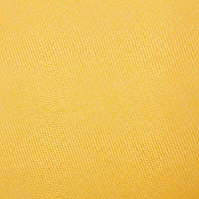 vidaXL Látková 3-miestna pohovka žltá