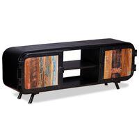 vidaXL TV skrinka, recyklované drevo 120x30x45 cm