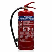 Smartwares Práškový hasiaci prístroj BB6 6 kg trieda ABC oceľový 10.014.72