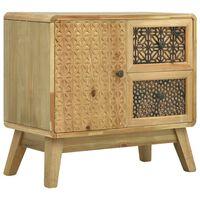 vidaXL Komoda hnedá 60x30x56,5 cm drevená