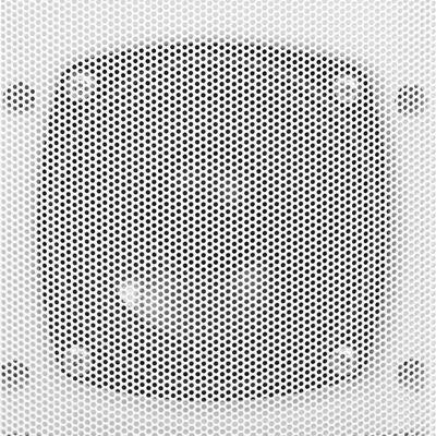 vidaXL Nástenné stereo reproduktory do interiéru a exteriéru 2 ks biele 80 W