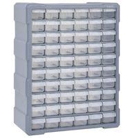 vidaXL Organizér so 60 zásuvkami 38x16x47,5 cm