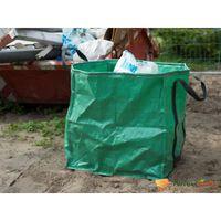 Nature Záhradné odpadové vrece štvorcové zelené 148 l