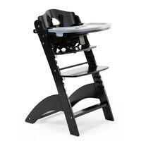 CHILDHOME 2-v-1 Detská stolička Lambda 3 čierna