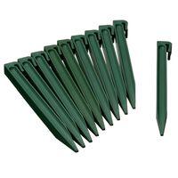 Nature Kotviace kolíky 10 ks zelené