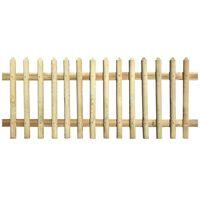 vidaXL Latkový plot, impregnovaná borovica 170x120 cm, 5/7 cm