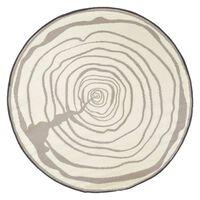 Esschert Design Vonkajší koberec pr. 170 cm letokruhy