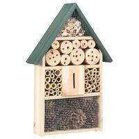 vidaXL Hotel pre hmyz 31x10x48 cm jedľové drevo
