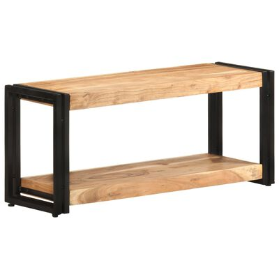 vidaXL TV skrinka 90x30x40 cm masívne akáciové drevo