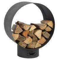 Esschert Design Okrúhly stojan na palivové drevo FF282