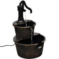 vidaXL Fontána, dizajn vodná pumpa