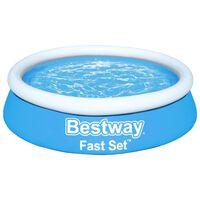 Bestway Fast Set Nafukovací bazén okrúhly 183x51 cm modrý