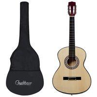 """vidaXL 12-dielna klasická gitarová sada pre začiatočníkov 4/4 39"""""""