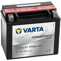 Varta Batéria do motocyklov Powersports AGM YTX12-4/YTX12-BS