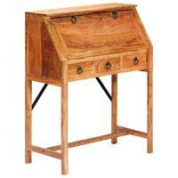 vidaXL Písací stôl 90x40x107 cm masívne akáciové drevo
