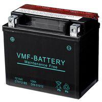 Batéria VMF Powersport Liquifix, 12 V 10 Ah MF YTX12-BS