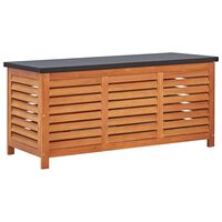 vidaXL Záhradný úložný box 117x50x55 cm masívne eukalyptové drevo