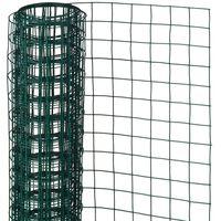 Nature Drôtené pletivo zelené 0,5x2,5 m 13 mm poplastovaná oceľ štvorcové