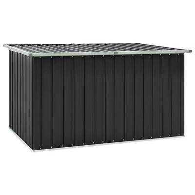 vidaXL Záhradný úložný box antracitový 171x99x93 cm