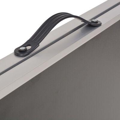 vidaXL Skladací tapetovací stôl, MDF a hliník 200x60x78 cm