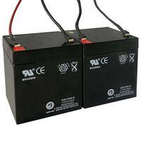 Náhradné batérie pre elektrické skútre 2 ks 12V 4,5Ah
