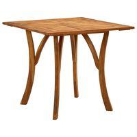vidaXL Záhradný stôl 85x85x75 cm akáciový masív