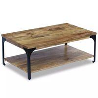 vidaXL Konferenčný stolík z mangového dreva, 100x60x38 cm