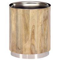 vidaXL Konferenčný stolík 38x45 cm masívne mangovníkové drevo
