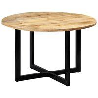 vidaXL Jedálenský stôl 120x73 cm, mangový masív