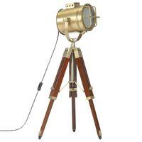 vidaXL Lampa na statíve 69 cm mangovníkový masív