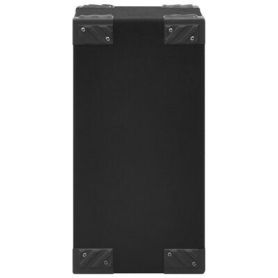vidaXL Profesionálne pasívne hifi reproduktory 2 ks 800 W čierne