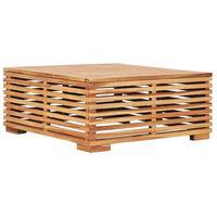 vidaXL Záhradný stôl 69,5x69,5x31 cm, tíkový masív