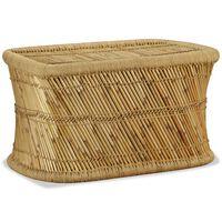 vidaXL Konferenčný stolík obdĺžnikový 78x50x45 cm bambusový