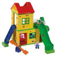 BIG 75-dielna hracia sada Bloxx Peppa s domčekom