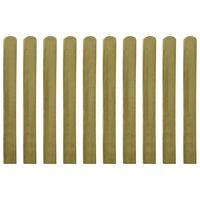 vidaXL Impregnované plotové dosky 30 ks, drevo 100 cm