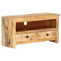 vidaXL TV skrinka 79x30x40 cm surové mangovníkové drevo