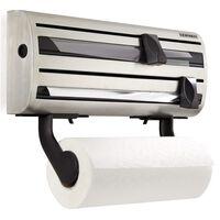 Leifheit Nástenný držiak na papierové utierky Parat Royal, sivý 25660