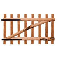 vidaXL Jednokrídlová brána, impregnované drevo, 100x60 cm