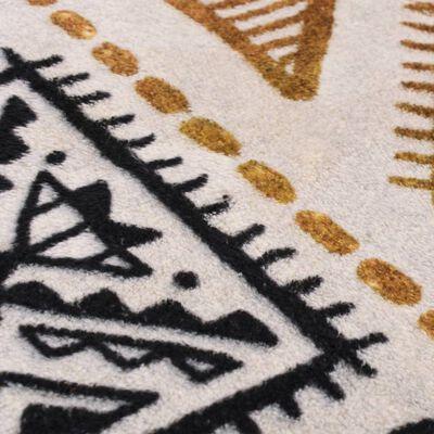 vidaXL Koberec s potlačou, farebný 160x230 cm, polyester