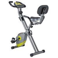 Orange Gym Fitness posilňovací bicykel X-Bike XB 30 sivý